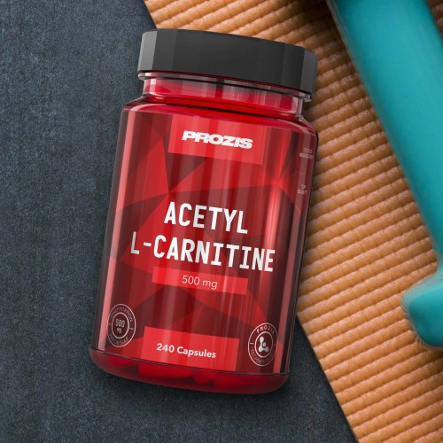 Acetil L-Carnitina 500 mg 240 cápsulas