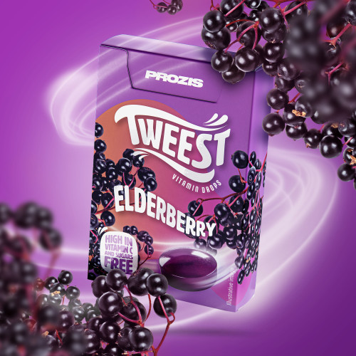 Tweest Vitamin Drops - Elderberry Flavor 50 g