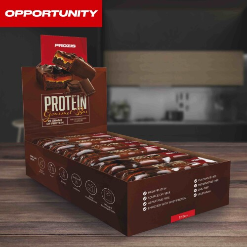 12 x Protein Gourmet Bar 80 g Opportunity