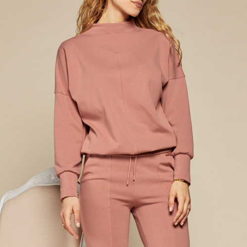 Sweatshirt X-Sense Borrow - Pink