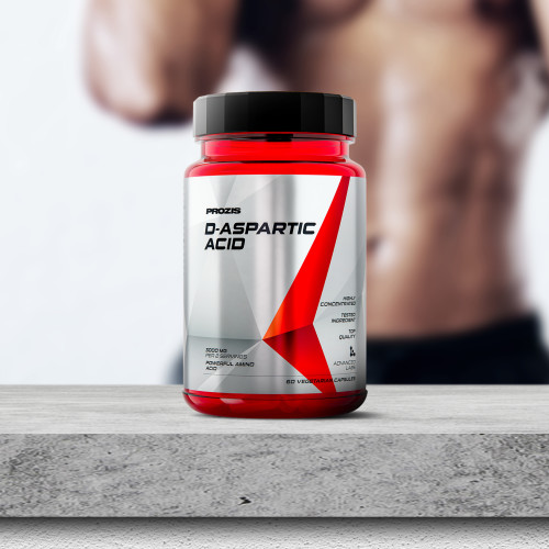 Acide D-Aspartique 1 500 mg 60 gélules