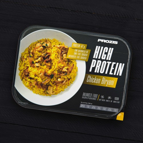 High Protein Chicken Biryani