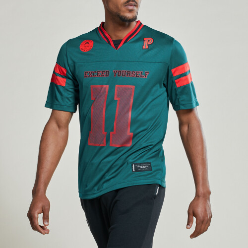 X-College Kickoff Football Jersey - Green