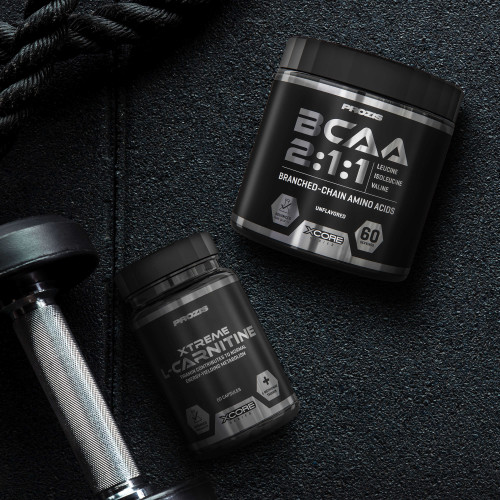 Xtreme L-Carnitine 60 caps + BCAA Powder 300 g