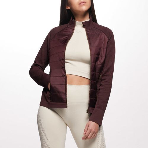 Chaqueta X-Skin West - Wine