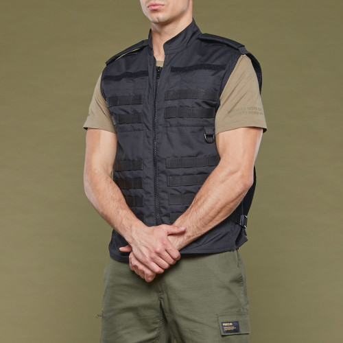 Gilet Multifonctionnel Army Field - Black