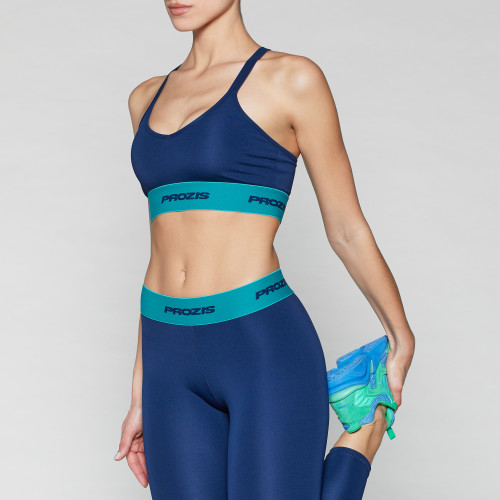 X-Spirit Sports Bra - Ocean Blue