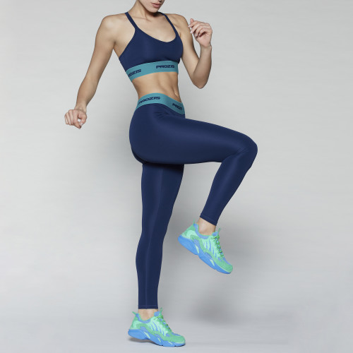 X-Spirit Leggings - Ocean Blue