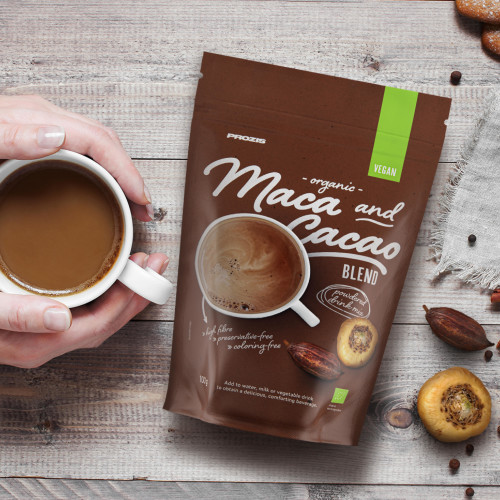 Organic Maca and Cocoa Drink