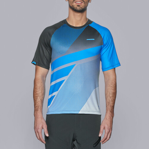 X-Cycle MTB SS Jersey - Shred Blue