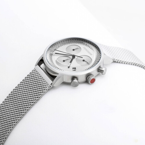 Calibre Watch - Metallic Silver