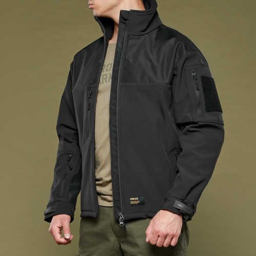 Chaqueta Softshell Army Swift - Black