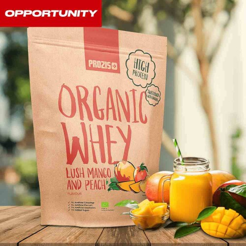Organic Whey Protein 900 g Opportunity