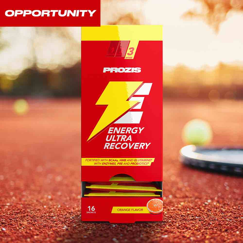 16 x Energy Ultra Recovery 40 g Opportunity