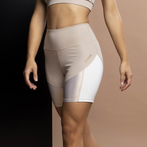 X-Sense Cycling Shorts - Rambutan Cream