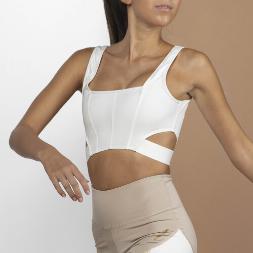 X-Sense Crop Top - Duhat Cream