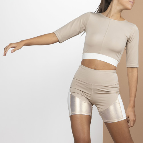 Crop top X-Sense - Jujube Cream