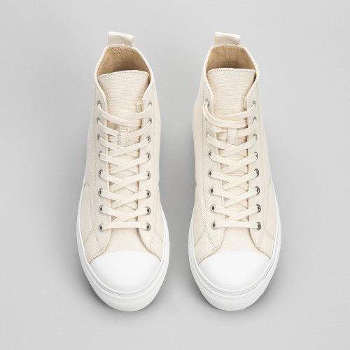 Sneakers - Sakuragi High Beige - W