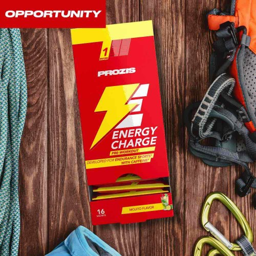 16 x Energy Charge - Pre Workout 50 g Opportunity