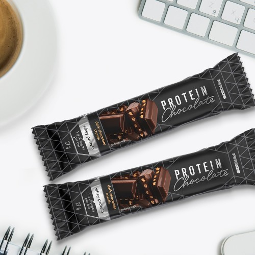 2 x Whey Protein Dark Chocolate - Krokant 27g