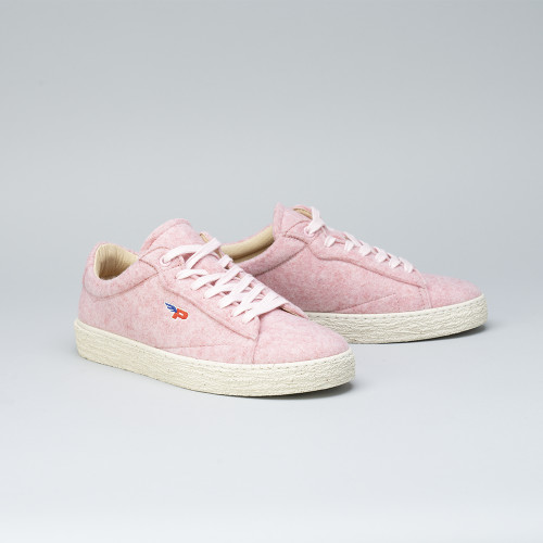 Sneakers - Match Felt Soft Pink