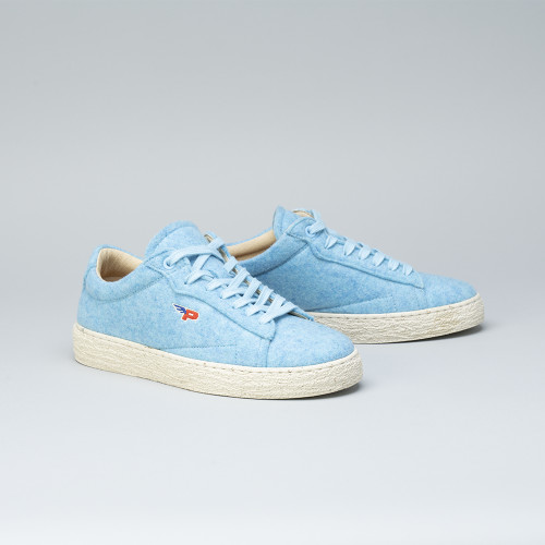 Sneakers - Match Felt Baby Blue