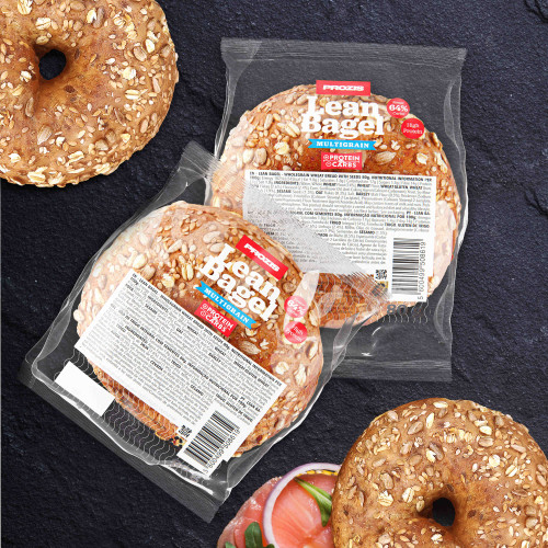2 x Lean Bagel - Multigrain 80 g