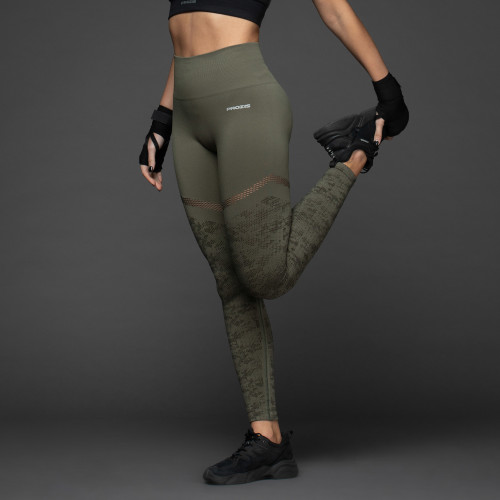 X-Skin Leggings - Maikekai Olive Night