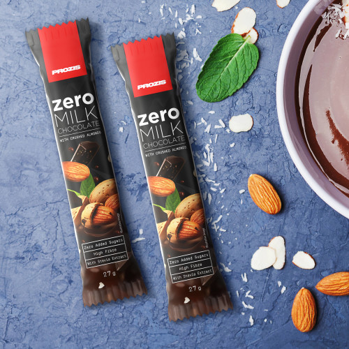 2 x Zero Milk Chocolate with Almonds 27 g