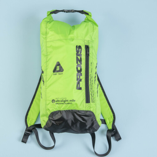 Mochila ultraligera  - Mile Runner Neon Green