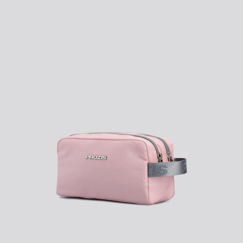Wash Bag - Split Light Pink