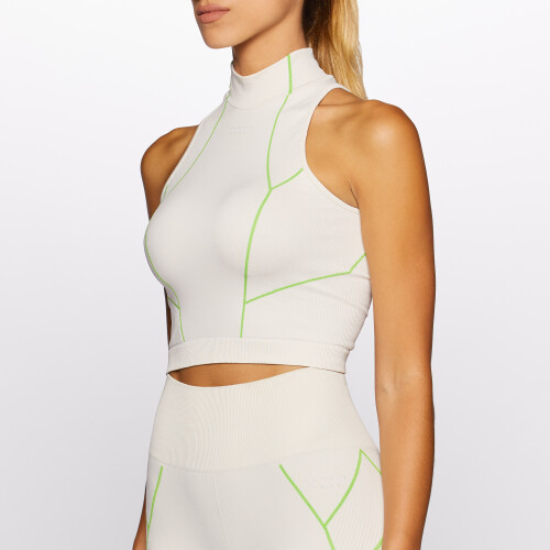 Peak Niobe Crop Top - Ivory