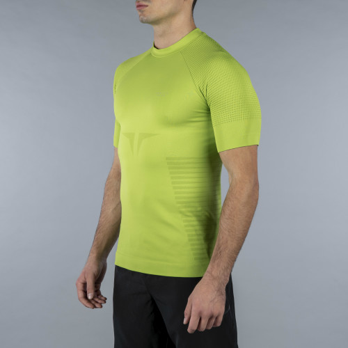 Peak Kurzarm Baselayer - Panther Volt