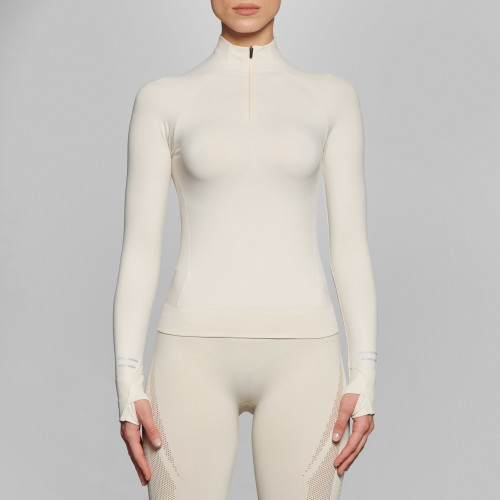 Peak Yoon Langarm Baselayer - Ivory