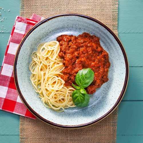 Italian Dry-Aged Beef Spaghetti Bolognese