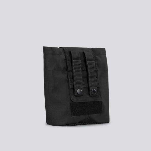 Army Flap Tactical Pouch - Stealth Black