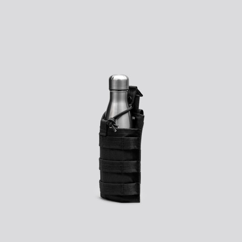 Army H20-Holder Taktischer Beutel - Stealth Black