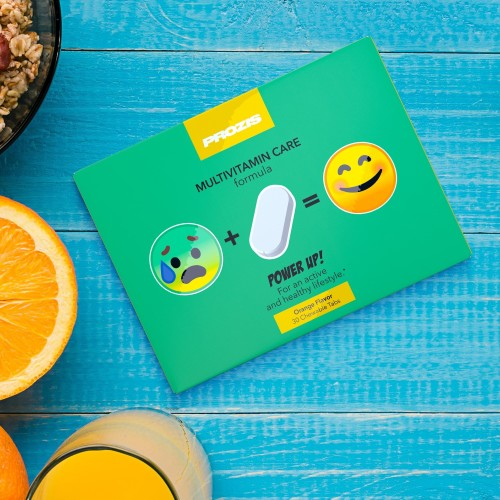 Power Up - Multivitaminé 30 Comprimés à Croquer