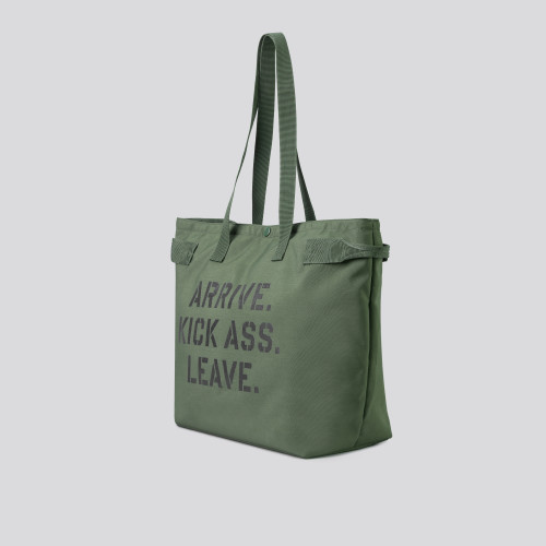 Army Drill Sargeant Tote Bag - Olive Green