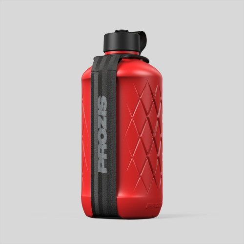 Hydra Bottle - 1.8L Red/Black