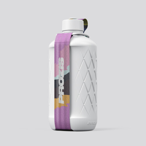 Hydra Bottle - 1.8L White/Print Pink
