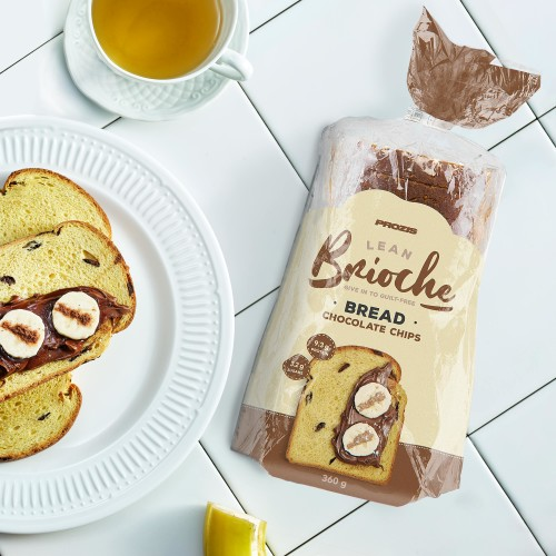 Lean Brioche Bread - Gotas de Chocolate 360g