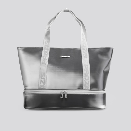 Athletic Special Tote Bag - Mercury Silver