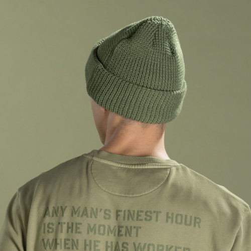 Gorro Army - Snowstorm Olive Green