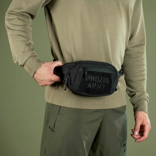 Army Recon Waist Bag - Stealth Black