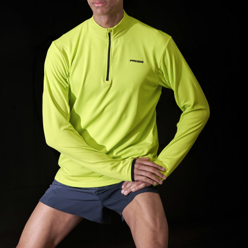 X-Run Boston M Midlayer - Lime Punch
