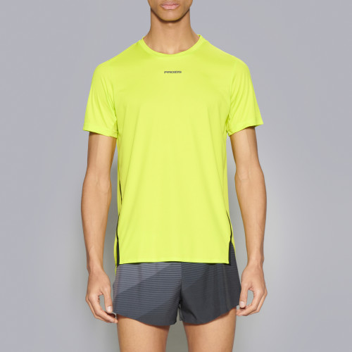 X-Run Boston M T-Shirt - Lime Punch