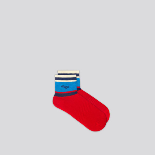 B-Style Avery Ankle Socks - Red