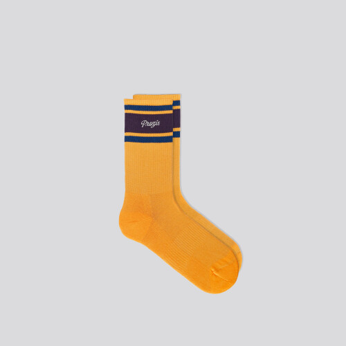 Chaussettes mi-mollet B-Style Carson - Yellow