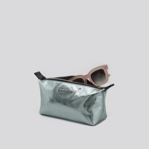 Trousse de toilette Glam - Metallic Green